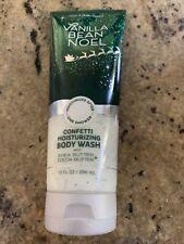 Bath & Body Works Vanilla Bean Noel Confetti Moisturizing Body Wash Soap 10 Oz