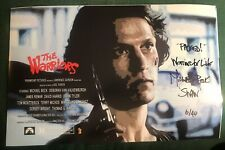 THE WARRIORS LTD ED of 40 MICHAEL BECK as SWAN Signed 11x17 EXCLUSIVE B