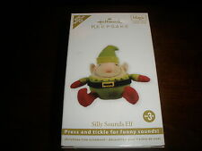 Collectible Hallmark Ornament, Magic Sound Silly Sounds Elf 2011 ~T4525