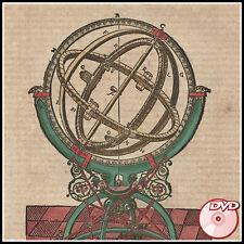 ASTRONOMY 26 Rare Antique Books - Petrus Apianus - Nicolaus Copernicus - 2 DVD's
