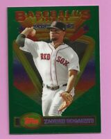 2020 Topps Baseball Finest Flashback Xander Bogaerts #91 All-Star Red Sox