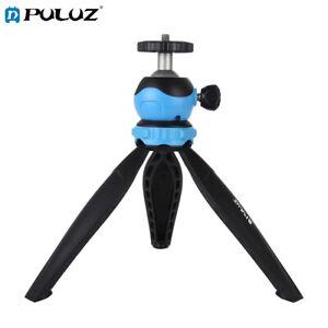 PULUZ Pocket Plastic Tripod Holder with 360 Degree Ball Head for Phone / Camera