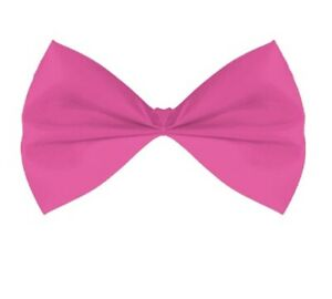 Rubies Multi Colored & Solid Colored Bow Ties Theater PLUR Novelty