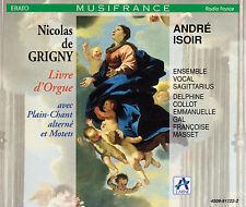 GRIGNY / CHARPENTIER / LULLY: Livre d'Orgue. Messe / Hymnes, Andre Isoir, 2 CDs