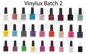 CND Vinylux Weekly Nail Polish Lacquer 15 ml / .5 oz / 0.5oz - Batch # 2