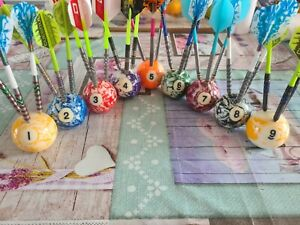 Darts Stand, pen holders, Man Cave, Pool Ball Golf Gift Ideas father's day