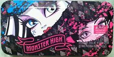 Monster High Creeparific Cosmetic Tin Collectible Shadow Lips Nails Sticker Case