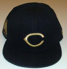 New Era Cincinnati Reds 59fifty 7 1/4 Cap Hat MLB 59th Anniversary Cashmere Gold