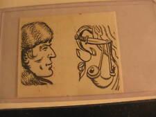1956 Topps Davy Crockett Tattoos Original Art #8