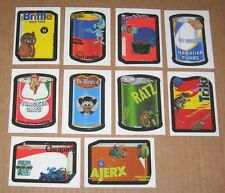 Wacky Packages ANS6 series 6 Make your own Wacky SET of 10