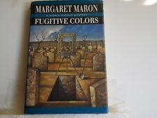 Maron, Margaret - Fugitive Colors - Signed - First Edition