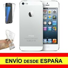 Funda Doble Transparente para IPHONE 5 Protector Gel Silicona TPU a2263