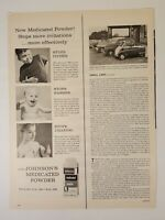 Vintage New Johnson's Medicated Powder Print Ad 1958 Life Magazine Advertising