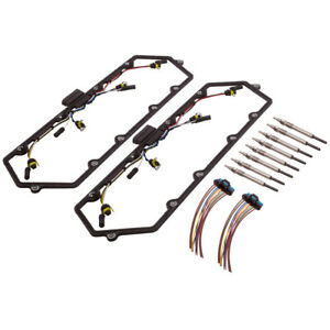 Valve Cover Gasket Harness Glow Plug Fit For Ford F250 F350 V8 7.3L F81Z-6584-AA