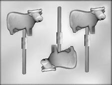 Cow Chocolate Lollipop Candy Mold from CK #11218 - NEW