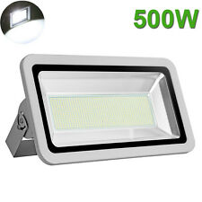 500W LED Cool White Flood Light Outdoor Landscape Spot Lamp Floodlight Spotlight