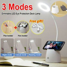 Dimmable LED Desk Bedside Reading Lamp Table Touch Control Night Light  3 Modes