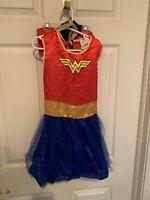Rubies DC Comics Wonder Woman Tutu Dress Costume Child Size Medium Five Piece