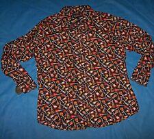 Size 3XB  Mens Shirt Long Sleeve Daniel Cremieux (Guitars)