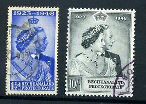 Bechuanaland RSW set used (top val fiscal)