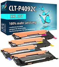 4 TONER XXL CLT-P4092C MIT 100% MEHR INHALT FÜR SAMSUNG CLP-315W CLX-3175FW SET