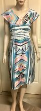 Howard Showers Silky Dress Sz 12 Fully Lined