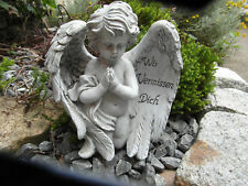 Grabengel,betend Trauerdeko Grabschmuck Engel Figur Grabdeko Friedhof  NEU