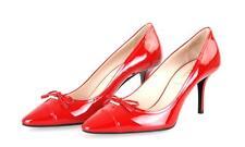 Authentic Luxury PRADA PUMPS Shoes 1i294f Red 39 5 40 UK 6.5