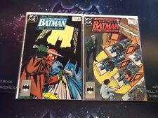 Batman Lot #434 435 The Many Deaths of the Batman #2-3 Run DC Comics (CBR375)