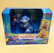 1995 Mattel Disney Pocahontas Run N Carry Meeko Sealed