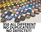 350 Beer Bottle Caps <<<ALL DIFFERENT NO DUPLICATES BEST MIX ON EBAY>>>