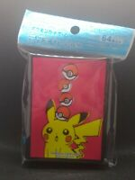 Pokemon center JAPAN - Pikachu drawing card Deck Shields (64 Sleeves)
