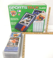 Vintage 1989 Topps Sportstalk Player NIB w/ Ten Player Electronic Cards NIP