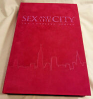 Sex And The City The Complete Series 2005 Gift Set Pink Cover & Acrylic Case