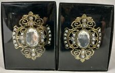 Pier 1 Imports Set of 2 Candle Pins Rhinestone Crystals