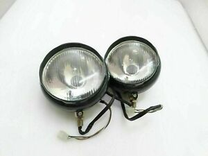 New Willys Ford Jeep Bumper Headlight (Pair)