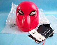XCOSER Red Hood Mask Helmet Full Head PVC Mask for Halloween Cosplay Props