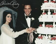 Priscilla Presley Autograph 8x10 Photo Elvis Wedding Signed JSA COA 8