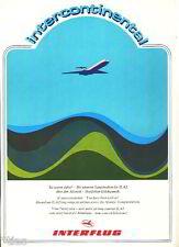Interflug intercontinental Sie waren dabei Urkunde IL 62 Berlin-Havanna 1981