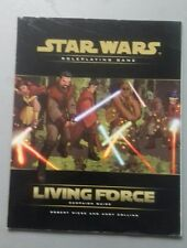 Living force campaign guide  star wars sci-fi RPG roleplaying book wotc wizards