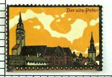 C.1900-10 Der alte Peter Label Poster Stamp P34