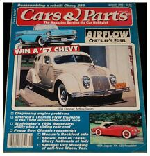 CARS and PARTS magazine August 1992--Studebaker, Chevrolet, Jaguar, Chrysler +