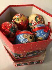Mary Engelbreit Christmas Collection 12 Ornament Balls Kurt Adler