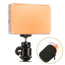 X21 Pocket-Sized 21-LED Video Light Lamp Panel LCD Screen for DSLR Camera DC DV