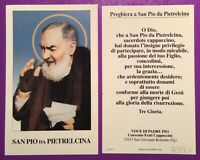 SANTINO HOLY CARD, SAN PIO DA PIETRELCINA -RIF. 7380