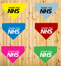 Thank You NHS Printed Dog Bandana Scarf 6 Colours 3 Sizes Charity Charities