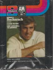 1 X 8 TRACK STEREO CARTRIDGE TAPE BURT BACHARACH CLOSE TO YOU