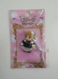 "Lolita Kewpie Mascot Figure Toy Maid 1.5"" japan"