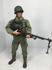 1/6 21ST CENTURY US 29TH INF DIV BAR GUNNER  FULLY LOADED! WW2 DRAGON BBI DID