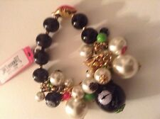 Betsey Johnson First Date Bracelet Retired Collection NWT